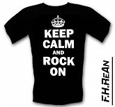 Koszulka Keep Calm and Rock On